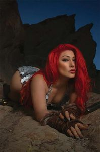 [Red Sonja: Black White Red #3 (Cover G Cosplay Virgin) (Product Image)]