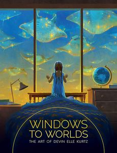 [Windows To Worlds: The Art Of Devin Elle Kurtz (Hardcover) (Product Image)]