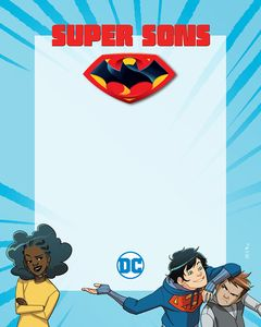 [Super Sons: Book 1: The Polarshield Project (Signed Mini Print Edition) (Product Image)]