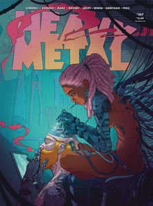 [Heavy Metal #307 (Cover A Jilesen) (Product Image)]