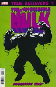 [True Believers: Hulk: Professor Hulk #1 (Product Image)]