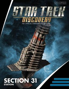 [Star Trek: Discovery Figurine Magazine Special #3: Section 31 Station (Product Image)]