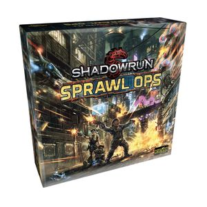[Shadowrun: Sprawl Ops: Board Game (Product Image)]