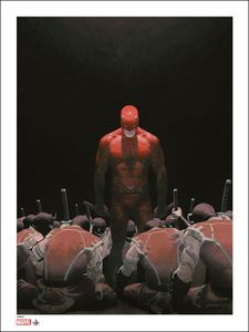 [Marvel: Giclee Print: Daredevil (Signed & Numbered) (Product Image)]