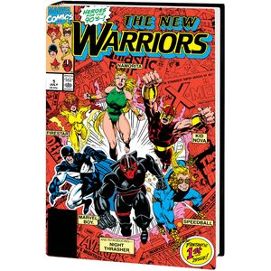 [New Warriors: Classic Omnibus: Volume 1 (Bagley Dm Variant New Printing Hardcover) (Product Image)]