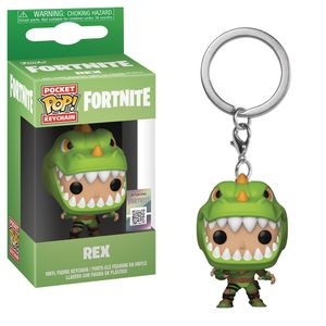 [Fortnite: Pocket Pop! Vinyl Keychain: Rex (Product Image)]