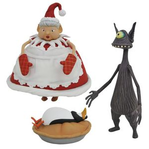 [The Nightmare Before Christmas: Action Figure: Cyclops & Mrs Clause (Product Image)]