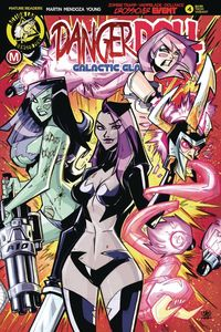 [Danger Doll Squad: Galactic Gladiators #4 (Cover C Trom) (Product Image)]