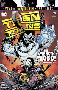 [Teen Titans #33 (YOTV Dark Gifts) (Product Image)]