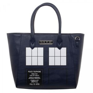 [Doctor Who: Tote Bag: TARDIS (Product Image)]