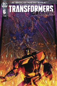 [Transformers: Galaxies #6 (Cover A Milne) (Product Image)]