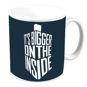 [Doctor Who: Mug: Bigger On The Inside (Product Image)]