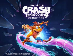 [The Art Of Crash Bandicoot 4: It's About Time (Hardcover) (Product Image)]