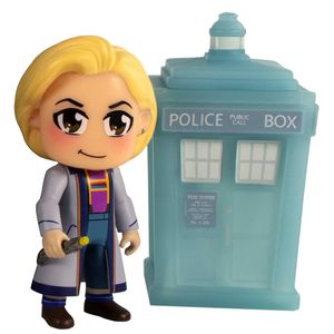 [Doctor Who: 13th Doctor: TITANS Vinyl Figure 2 Pack: Kawaii & Materialising Tardis (SDCC) (Product Image)]