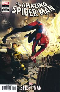 [Amazing Spider-Man #5 (Mandryck Spider-Man Video Game Variant) (Product Image)]