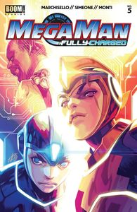 [Mega Man: Fully Charged #5 (Cover A Main) (Product Image)]