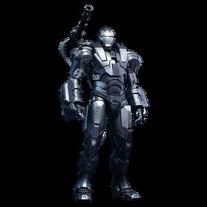 [Marvel: Iron Man 2: Hot Toys Diecast Action Figure: War Machine (Product Image)]