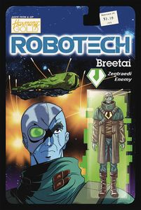 [Robotech #9 (Cover B Action Figure Variant) (Product Image)]