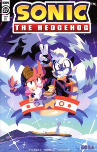 [Sonic The Hedgehog #37 (Fourdraine Variant) (Product Image)]
