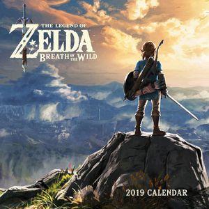 [Legend Of Zelda: Breath Of The Wild: Wall Calendar 2019 (Product Image)]