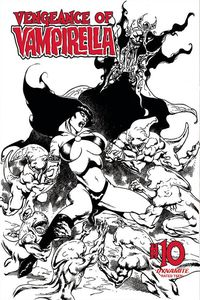 [Vengeance Of Vampirella #10 (Castro Black & White Variant) (Product Image)]