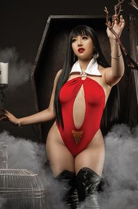 [Vampirella: Dark Powers #4 (Cosplay Virgin Variant) (Product Image)]