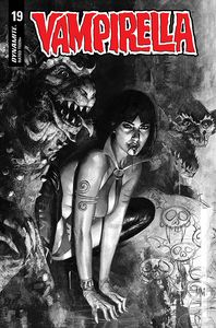 [Vampirella #19 (Mastrazzo Black & White Variant) (Product Image)]