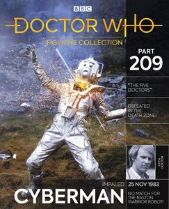 [Doctor Who Figurine Collection #209: Impaled Cyberman (Five Doctors) (Product Image)]