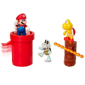 [World Of Nintendo: Action Figure Diorama Set: Super Mario Dungeon (Product Image)]