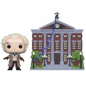 [Back To The Future: Pop! Vinyl Figure: Doc With Clock Tower (Product Image)]