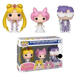 [Sailor Moon: Pop! Vinyl Figure 3-Pack: Neo Queen Serenity, Small Lady & King Endymion (Product Image)]