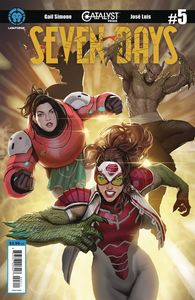 [Catalyst Prime: Seven Days #5 (Cover A Sejic) (Product Image)]