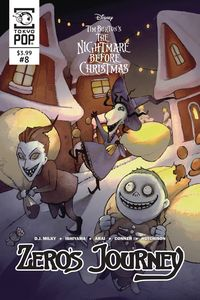 [The Nightmare Before Christmas: Zeros Journey #8 (Product Image)]