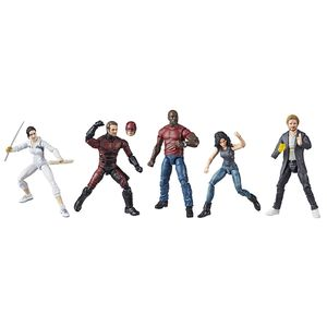 [Marvel: Legends Series Action Figure 5 Pack: Defenders: Rail Authority (Product Image)]