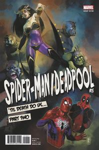 [Spider-Man/Deadpool #15 (Reis Poster Variant) (Product Image)]