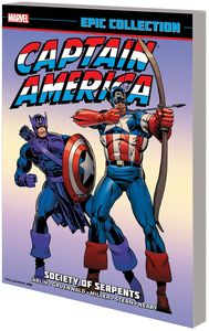 [Captain America: The Epic Collection: Society Serpents (Product Image)]