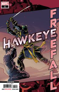 [Hawkeye: Free Fall #1 (2nd Printing Schmidt Variant) (Product Image)]