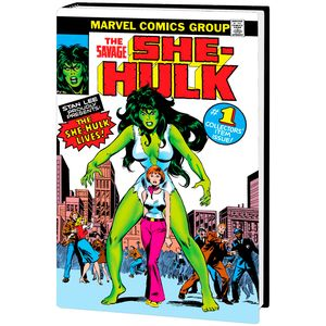 [Savage She-Hulk: Omnibus (DM Variant Hardcover) (Product Image)]