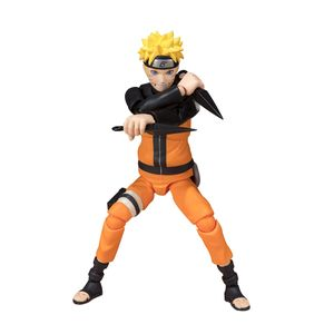 [Naruto Shippuden: SH Figuarts Best Selection Action Figure: Naruto Uzamaki (Product Image)]
