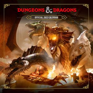 [Dungeons & Dragons: 2022 Square Calendar (Product Image)]