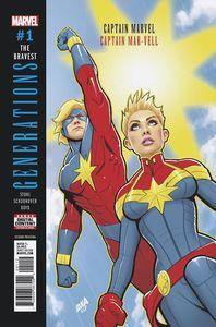 [Generations: Captain Marvel & Capt Mar-Vell #1 (2nd Printing Nakayama Variant) (Product Image)]
