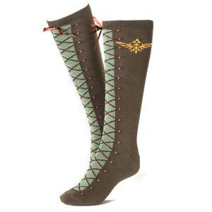 [Legend Of Zelda: Knee High Sock (Product Image)]