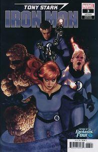 [Tony Stark: Iron Man #3 (Hughes Return Of Fantastic Four Variant) (Product Image)]