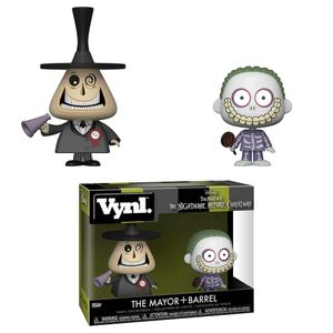[NIghtmare Before Christmas: Vynl Figures 2-Pack: Mayor & Barrel (Product Image)]