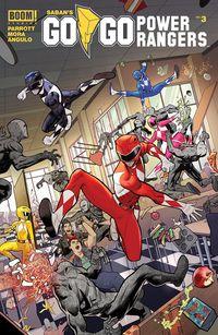 [The cover for Go Go Power Rangers #3]