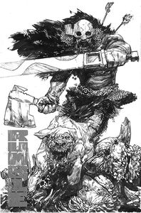 [Rumble #16 (Cover A Black & White Zaffino) (Product Image)]