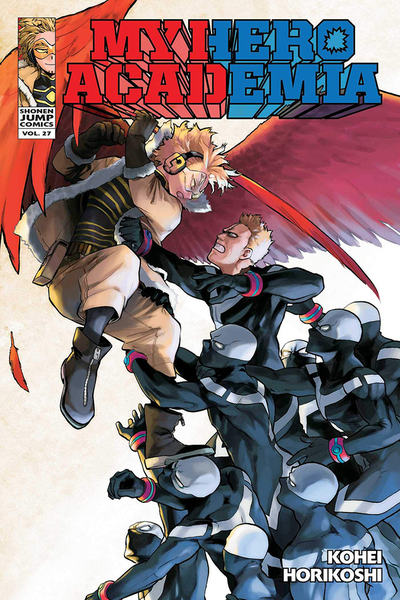 [The cover for My Hero Academia: Volume 27]