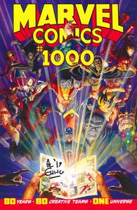 [Marvel Comics #1000 (Signed Edition) (Product Image)]