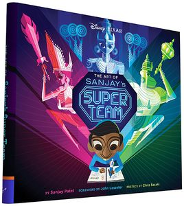 [Art Of Sanjay's Super Team (Hardcover) (Product Image)]