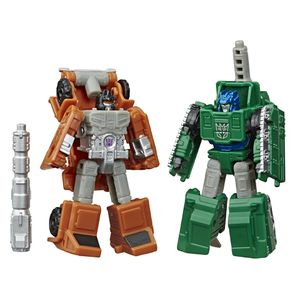 [Transformers: Generations: War For Cybertron: Micromasters Action Figures: Bombshock & Growl (Product Image)]